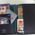 [我的旅行小物] 虎咪的護照夾裝什麼呢?!